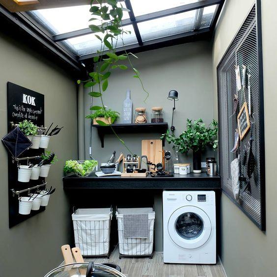 Lavaderos exteriores cómo decorar y organizar
