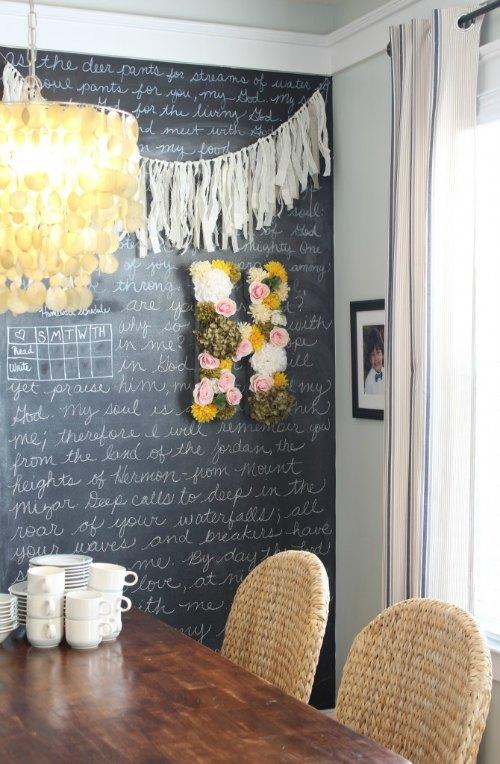 De letras y flores