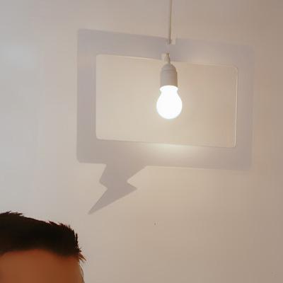 Lámpara colgante original: Lustridée
