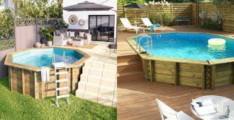 Mantenimiento de las piscinas de madera