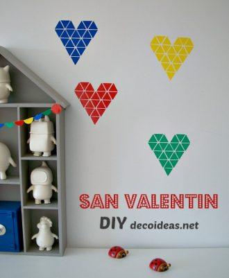 DIY de Corazones adhesivos fáciles de hacer