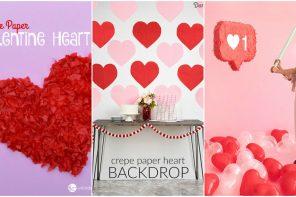 Manualidades de papel para San Valentín