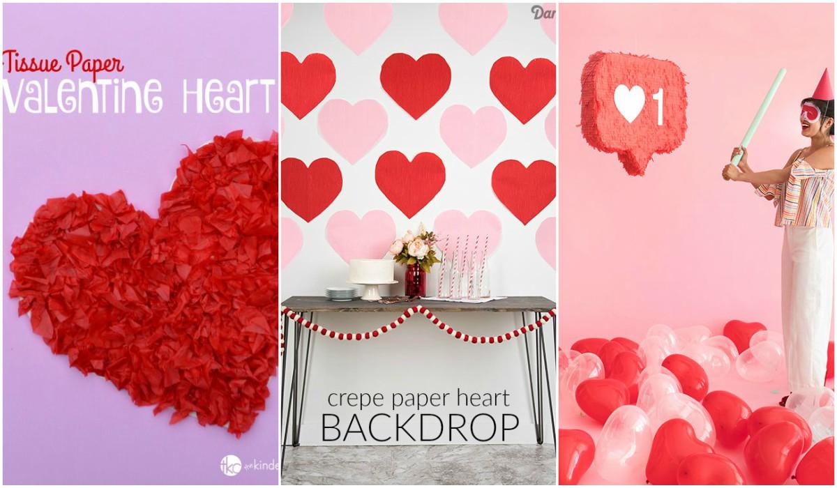 Manualidades de papel para San Valentin