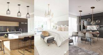 Mejores lugares para colocar lámparas de techo en la casa
