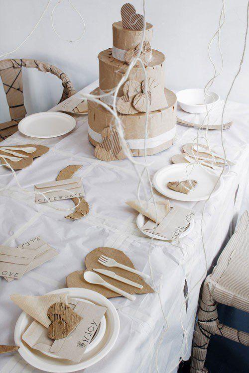 Decorar mesa para San Valentín