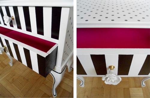 Muebles reciclados antes y despu s de una mesita restaurada for Reciclado de placares