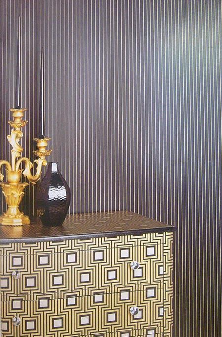Ideas decorativas: empapelar los muebles
