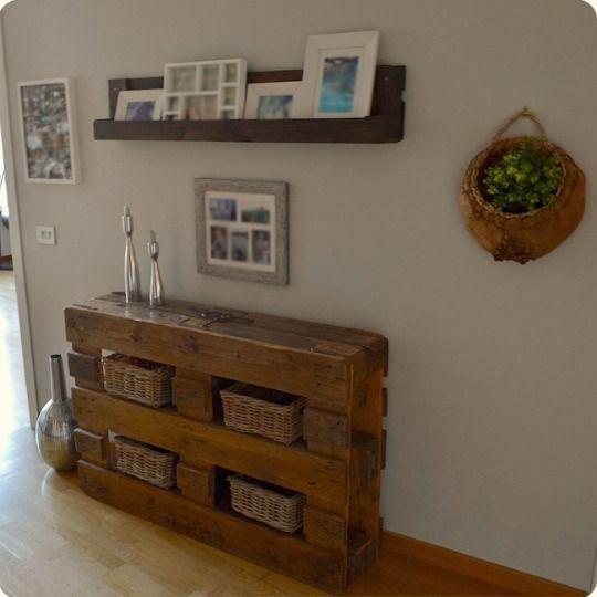 Paletos muebles reciclados fabricados con palets for Muebles con tarimas para cocina