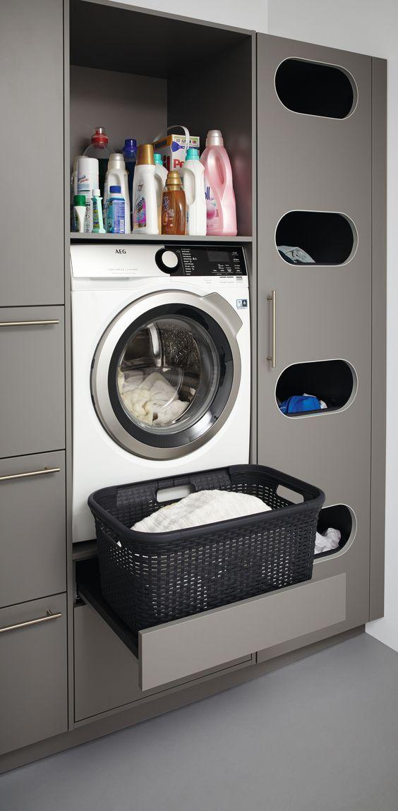 Muebles para guardar ropa sucia