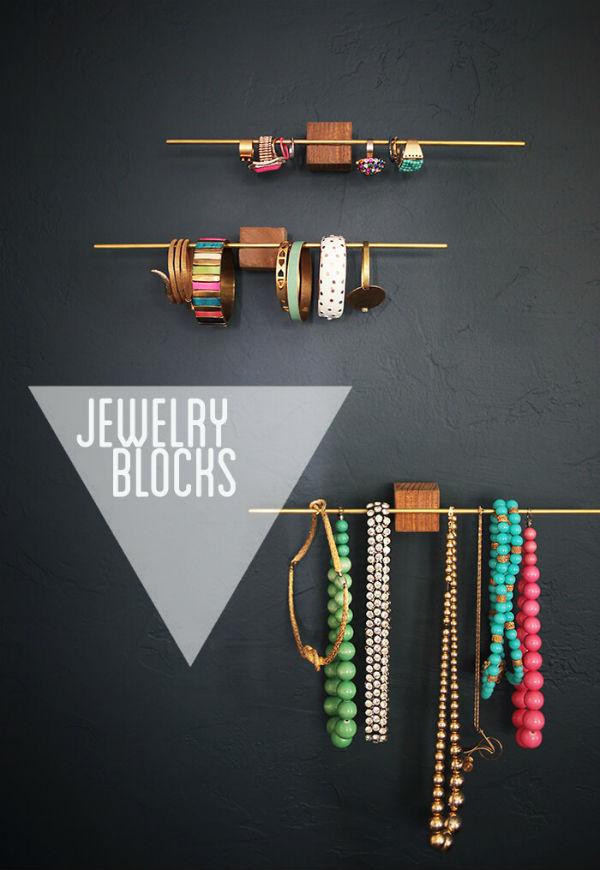 DIY para organizar tus collares y pulseras