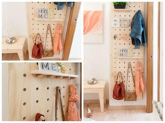 Organizador para el recibidor DIY