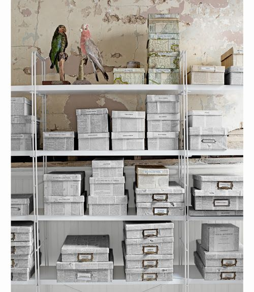 Ordenar tu zona de trabajo con cajas de cartón