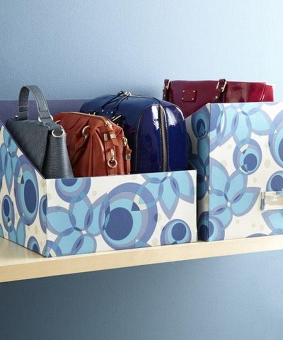 Organizar armarios con cajas