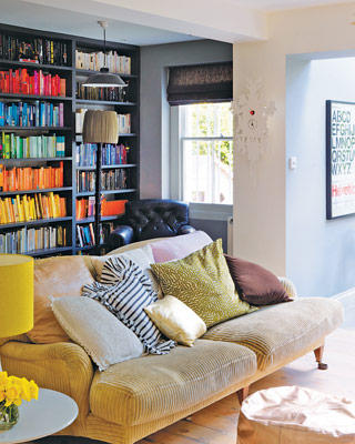 Organizando los libros