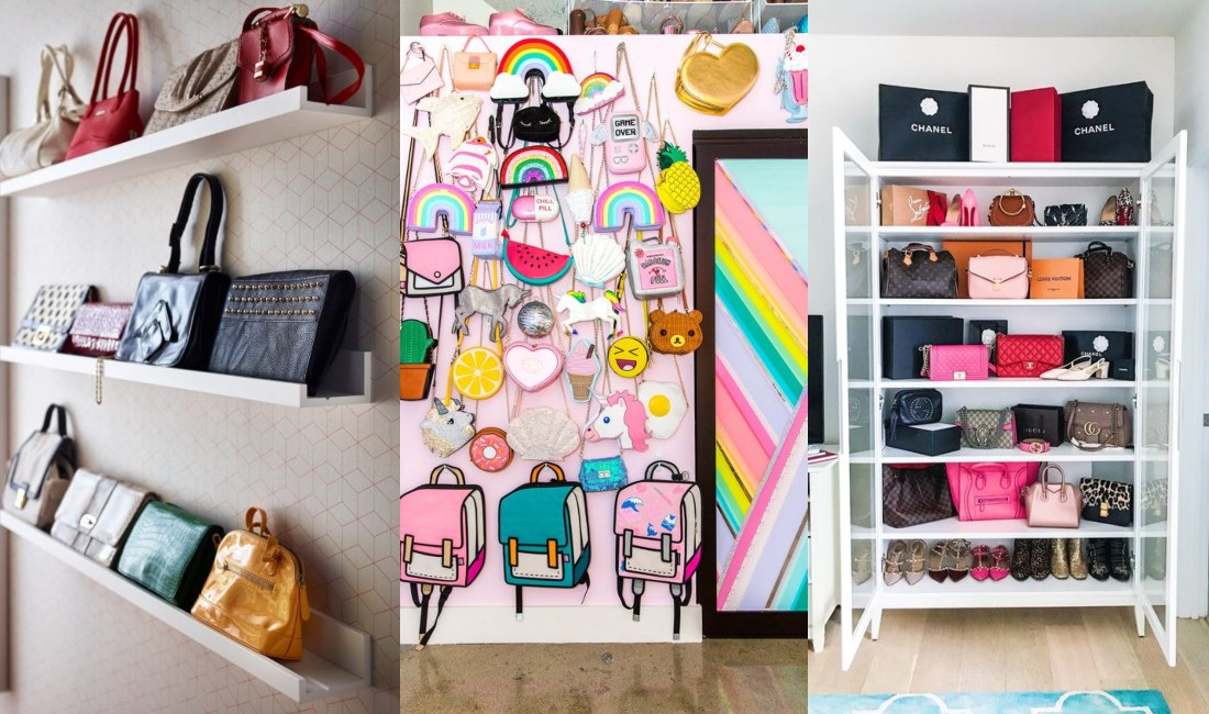 Cómo organizar tus bolsos