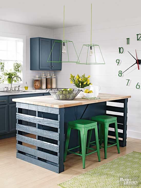 Pallets reciclados ideas para la cocina