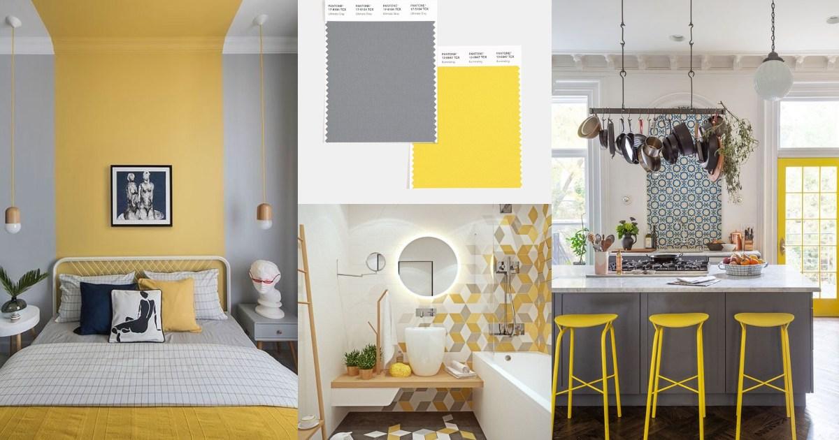 Pantone 2021: Ultimate Gray + Illuminating