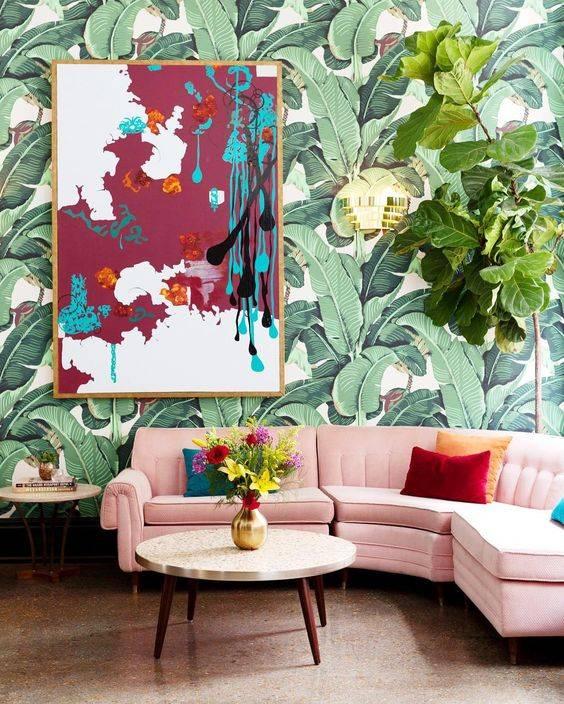 Ideas papel pintado salón