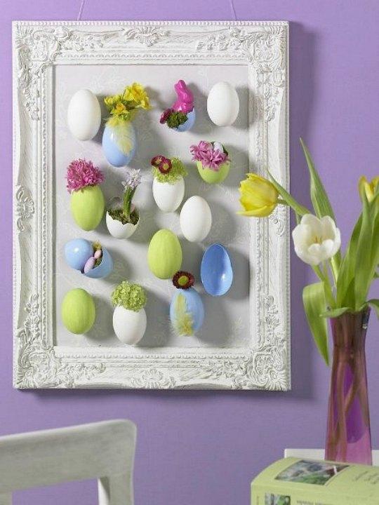 Pascua 4 manualidades para decorar tu hogar - Manualidades para decorar paredes ...