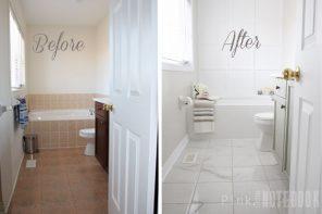 Pintar azulejos de baño paso a paso