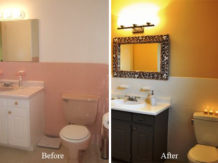 Pintar azulejos de ba o paso a paso decoraci n hogar - Pintar bano con hongos ...