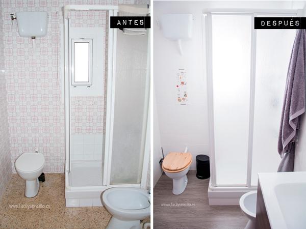 Fotos de baños con azulejos pintados