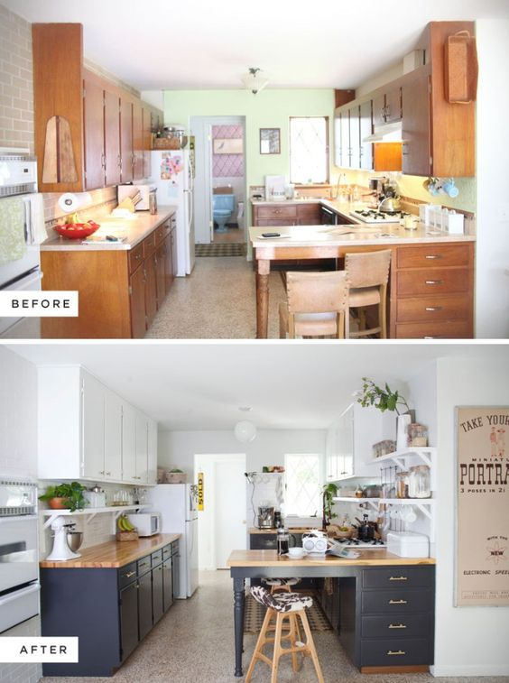 Pintar muebles cocina