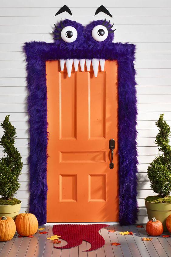 Decorar puerta Halloween ideas