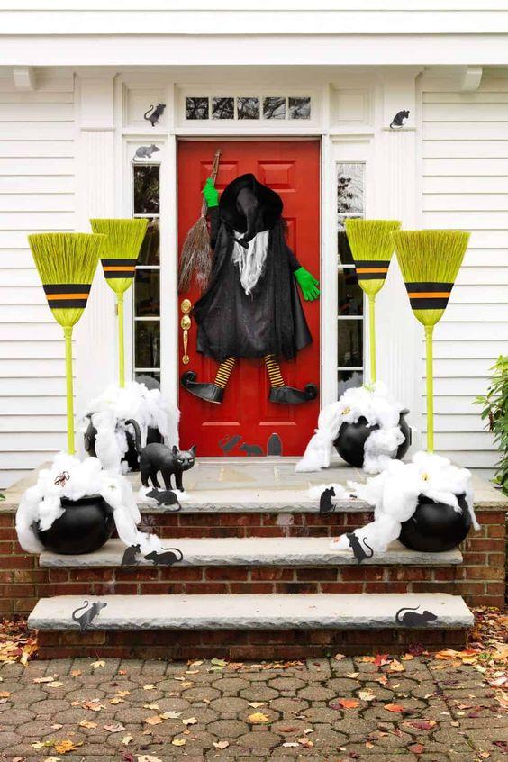 Ideas para decorar tu puerta en Halloween