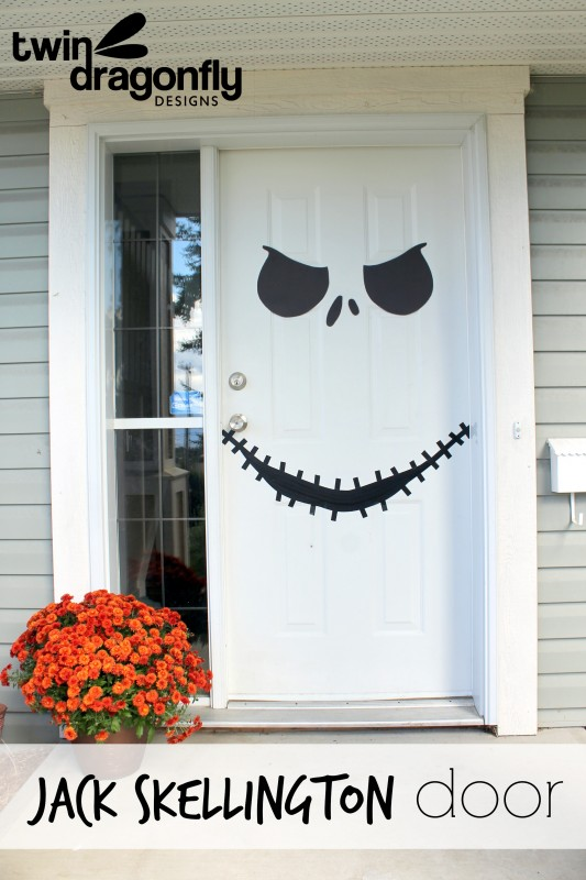 6 ideas para decorar tu puerta en halloween for Como decorar una puerta