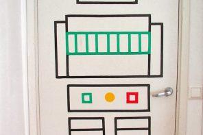 Ideas para decorar puertas infantiles