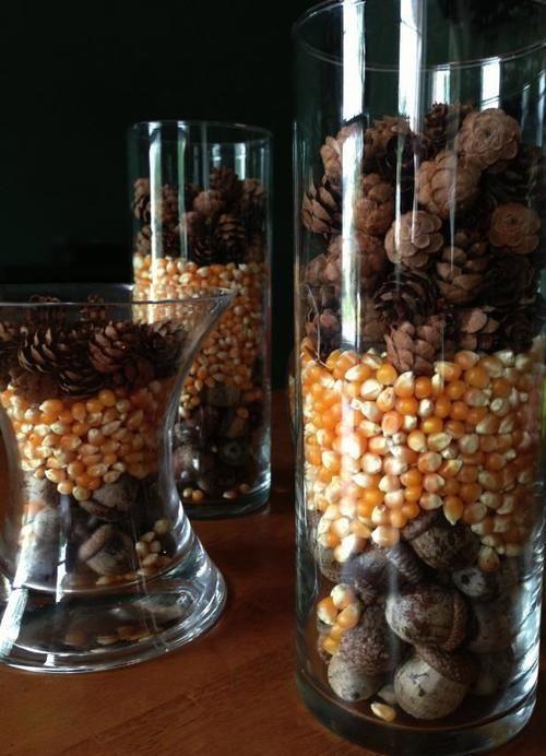 Qué poner en un jarrón de cristal