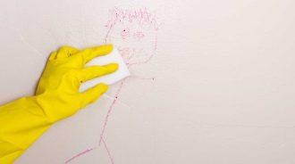 Quitar manchas de las paredes