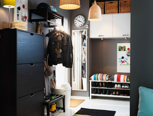 Más fotos de recibidores Ikea
