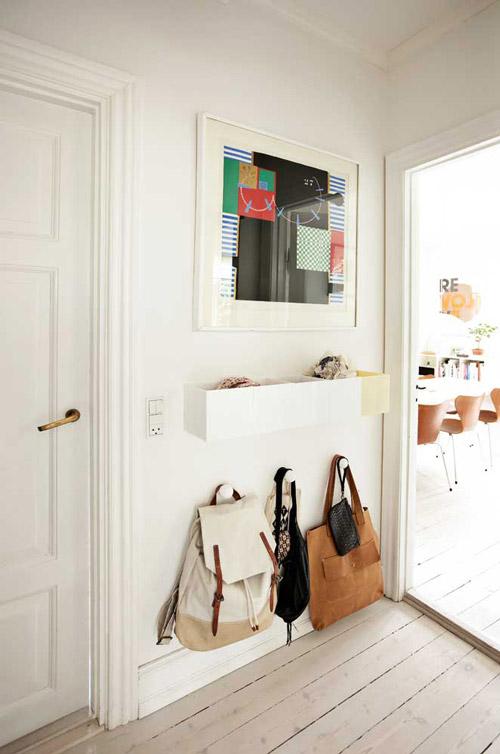como decorar un recibidor muy pequeo - Ideas Recibidor