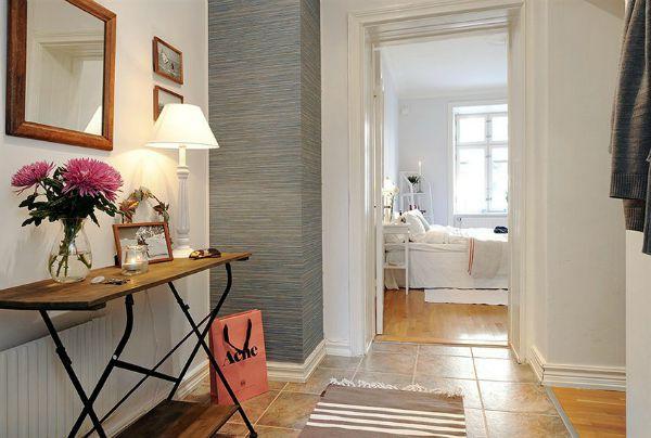 Decorar recibidores con radiador - Muebles entraditas ikea ...