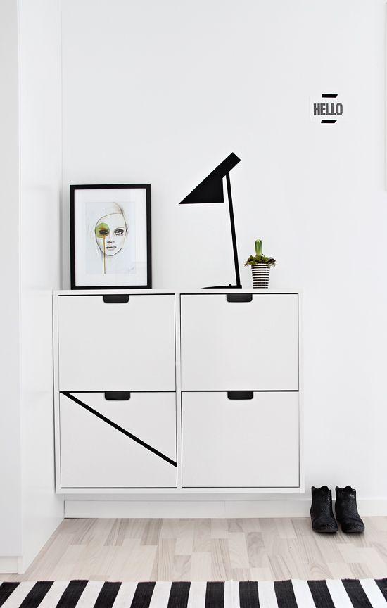 Recibidores con zapatero decoraci n hogar - Mueble casillero ikea ...