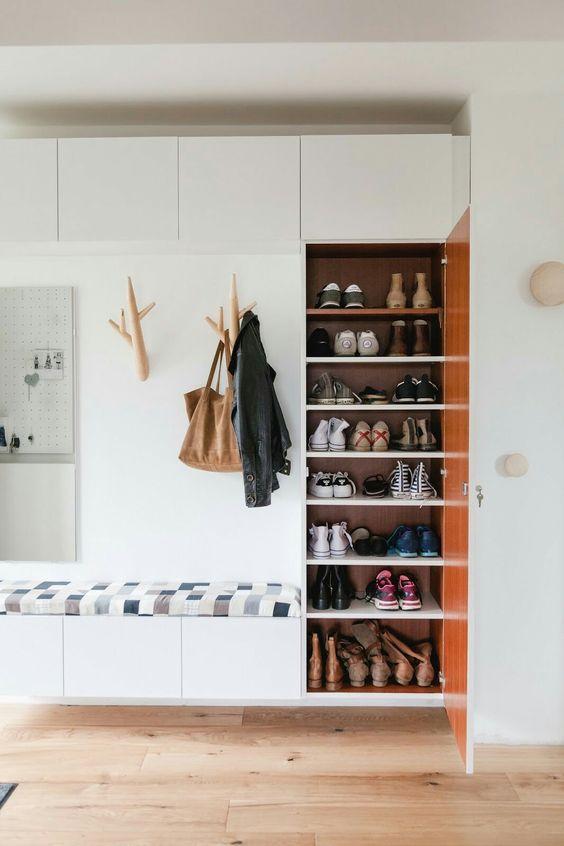 hallways with shoe rack 6