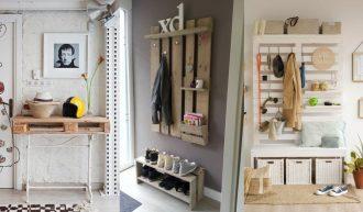 Decoracion palets ideas y fotos decoracion palets - Fotos de recibidores de casas ...