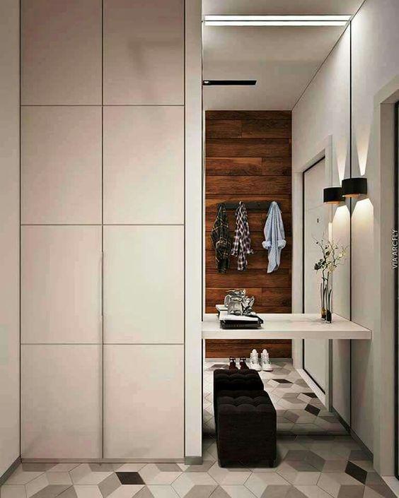 Fotos de recibidores con espejos