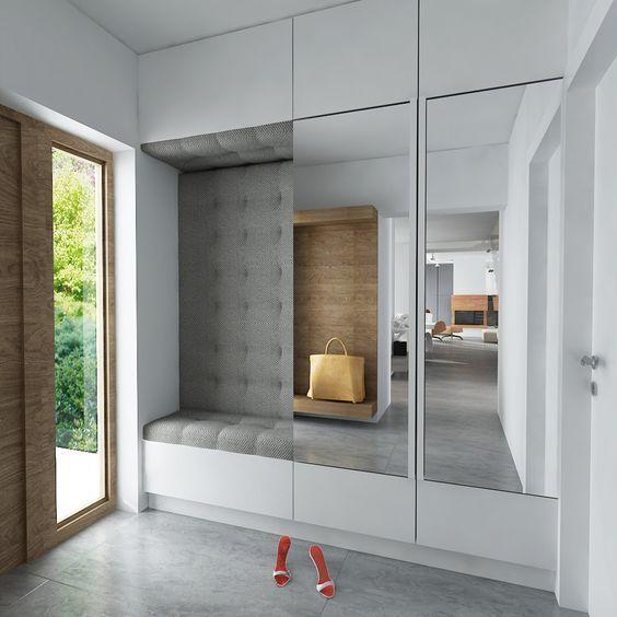 Fotos de recibidores con espejo recibidores decorados - Recibidores feng shui ...