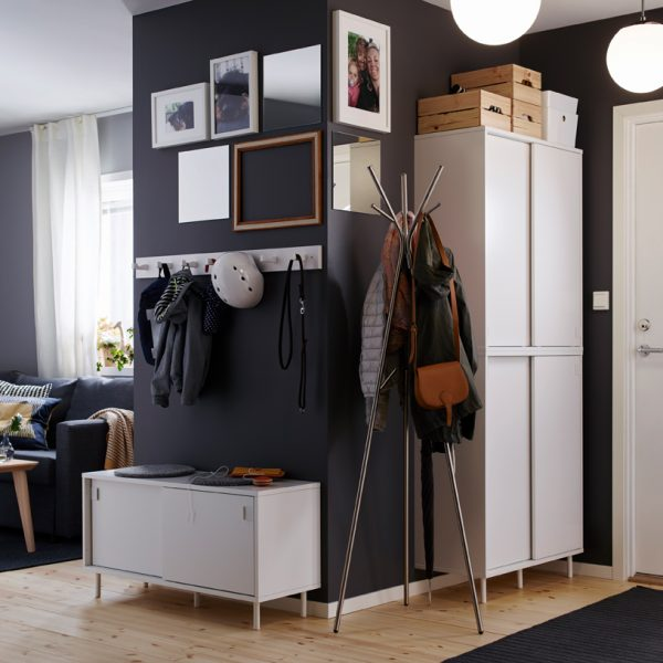 Recibidores Ikea catálogo 2018-2019
