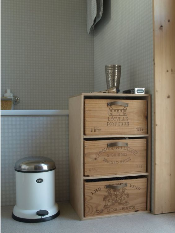 Ideas para reciclar una caja de vino