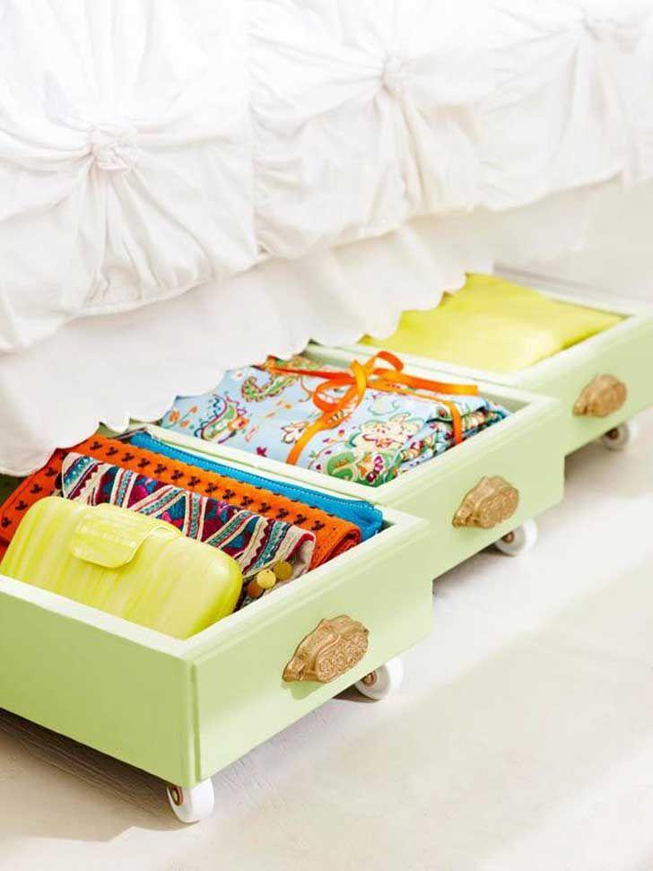 Reciclar cajones de muebles