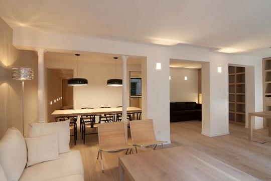 Vivienda para un ingeniero reformada por lado blanco - Interiorismo de casas ...