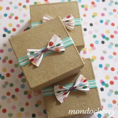 Como envolver regalos para el d a del padre for Decorar regalos