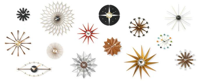Relojes de pared de diseño: George Nelson