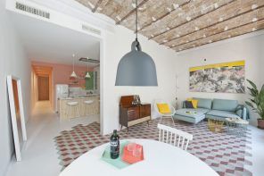 Renovación de apartamento centenario