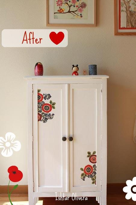 Nueva vida para un viejo armario - Restaurar armario ...
