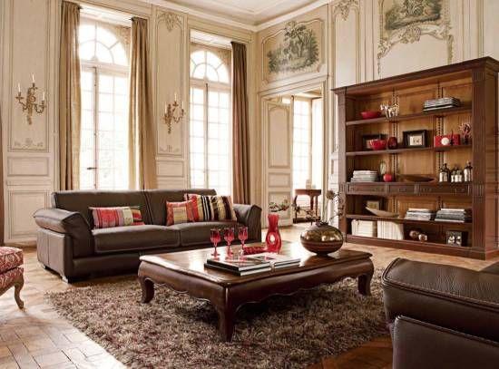 Lo clásico nunca pasa de moda y menos en tu salón